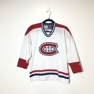CCM Montreal Canadiens Boy's Jersey Size L/XL